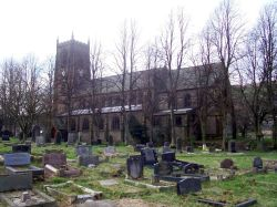 Marsden Parish Church, West Yorkshire