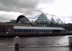The Sage, Gateshead Viewed From Newcastle Quayside