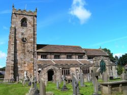 St. Helen's Church, Waddington, Lancashire