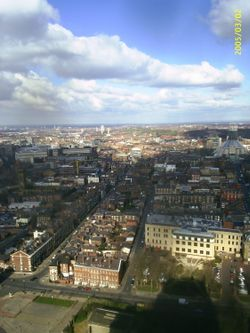 Wirral from Liverpool's Anglican Cathedral
