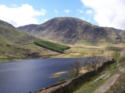 Harter Fell from Haweswater Reservoir, N E Lakes