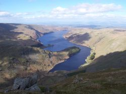 Haweswater from Harter Fell N E Lakes