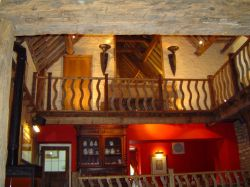 Rose & Crown interior, Nympsfield, Gloucestershire