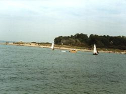 St. Helens, Isle of Wight. - Beach