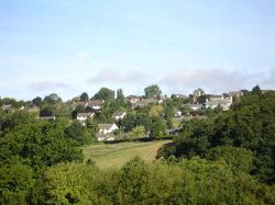 Village of Zeal Monachorum in Devon