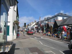 Bude town
