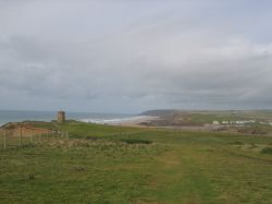 The lookout tower at compass point, Bude