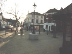 St. Peters Square. Emsworth. Hampshire