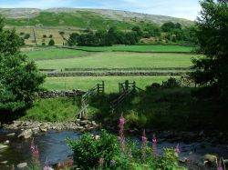 Fremington Edge from Reeth, Yorkshire dales