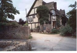 A wonderful old pub, The Bretforten Inn, near Evesham. Worcestershire.