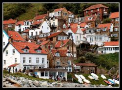 Runswick Bay, North East Yorkshire, 11th Sept 2005.(late afternoon)