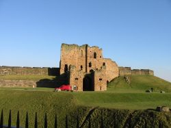 Photograph of the entrance to Tynemouth Priory, Tynemouth, Tyne & Wear