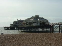 Old Brighton Pier before fire
