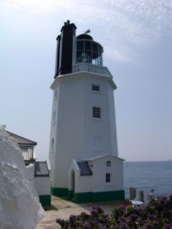 St. Anthony's Lighthouse. near Falmouth, England