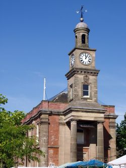 Guildhall, Newcastle-under-Lyme, Staffordshire