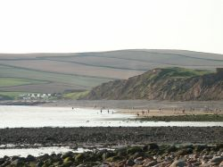 St Bees beach as seen from Seamill
