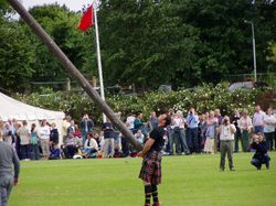 Cupar Highland games