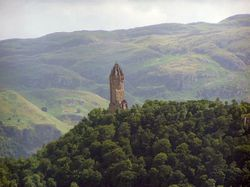 The National Wallace Monument near Stirling, Stirlingshire