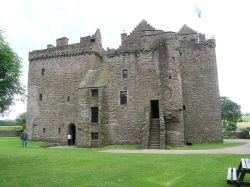 Huntingtower Castle near Perth