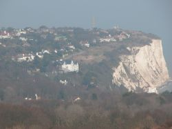 The white cliffs at St. Margaret's at Cliffe, Kent