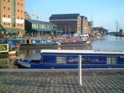 Moorings at Gloucester Dock