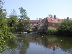 Flatford mill, Suffolk