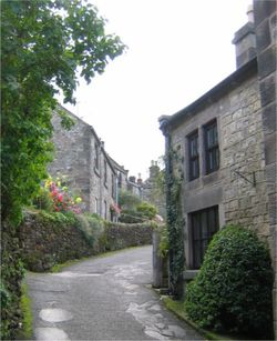 Winster. A village in Derbyshire