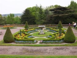 Gardens at Tatton Park, Cheshire.
