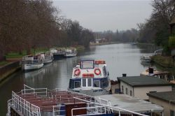 Moored boats,    Oxford