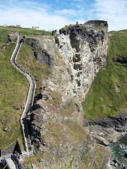 Tintagel Castle, June 2004