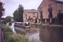 Berkhamsted, Hertfordshire - 'The Boat' by the canal