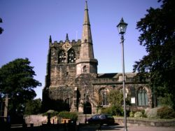 St Peter and Paul Parish Church in Ormskirk, Lancashire.