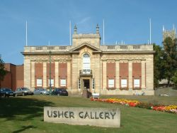 A picture of Usher Gallery