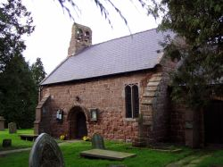 Saint Ediths Church, Shocklach, Cheshire