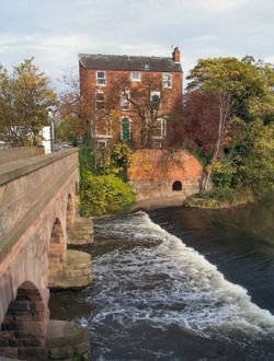 Off Burton Bridge, Burton upon Trent, Staffordshire