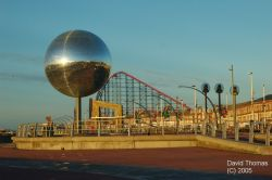 Picture of Blackpool Promenade in Nov 05.
