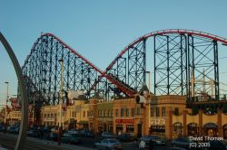 Picture of Blackpool Big one Roller Coaster in Nov 05.