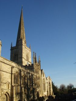 Burford Church, Oxfordshire