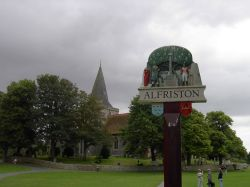 Alfriston, E. Sussex, the parish church