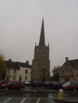 Church in Lechlade, Gloucestershire