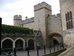 This photo of Henry III's Watergate was taken in September 2005. Wallpaper