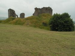 Clun Castle in South Shropshire