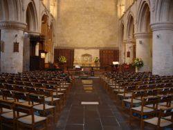 Malmesbury Abbey, Inside view