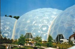 The Eden Project in Bodelva, Cornwall