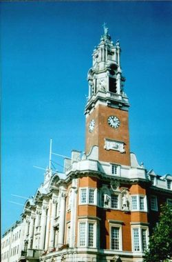 Town Hall in Colchester, Essex
