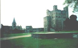 Rochester Castle and Cathedral, Kent