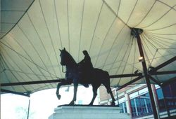 Lady Godiva Statue in Coventry