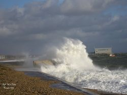 High Tide at Selsey November 2005