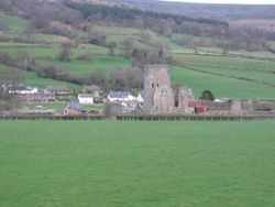 Tretower Castle