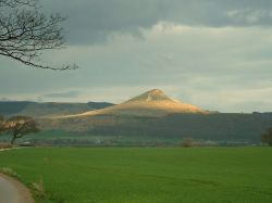 Roseberry Topping, Nr Great Ayton. March 2005